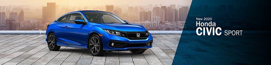 2020 Honda Civic Coupe Sport CVT