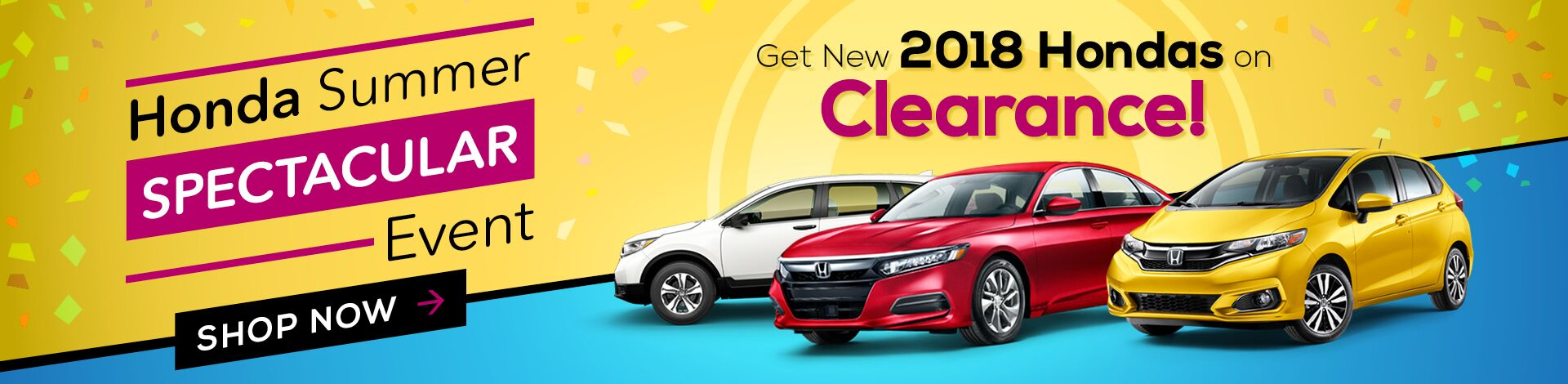Monthly New Car Clearance Specials
