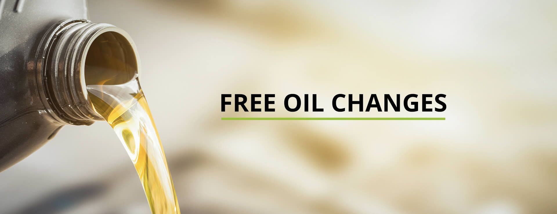 Free Oil Changes at Coast To Coast Motors