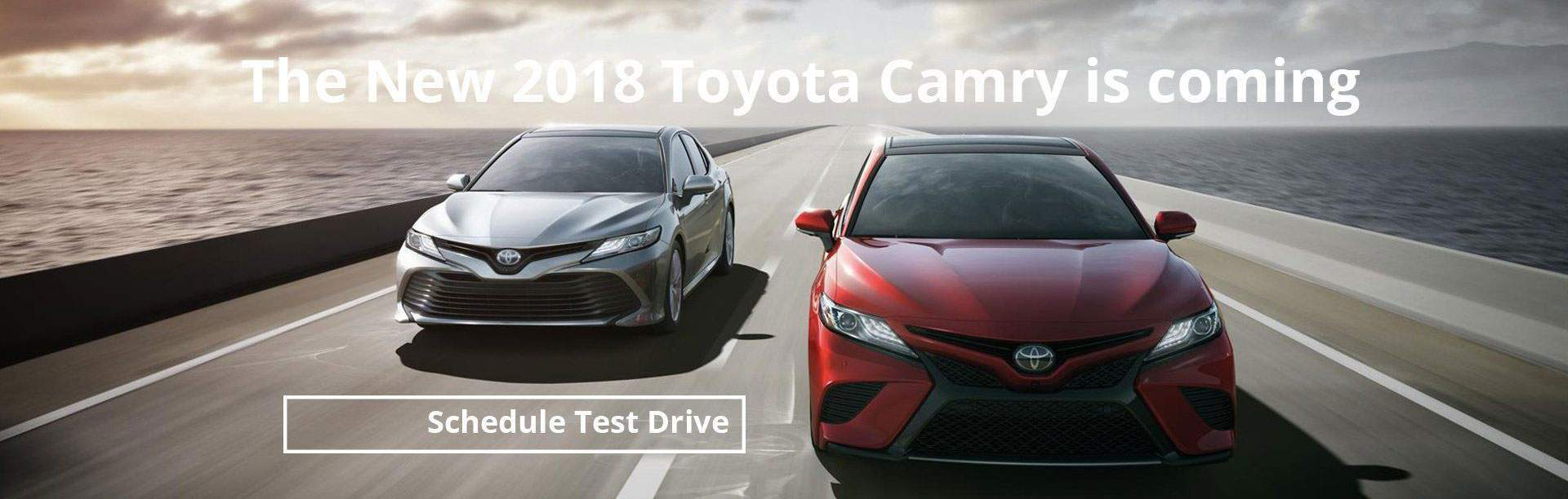 Schedule Test Drive at South Hills Toyota
