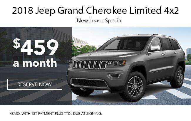 2018 Grand Cherokee 4x2