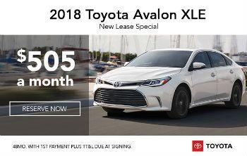 2018 Avalon XLE