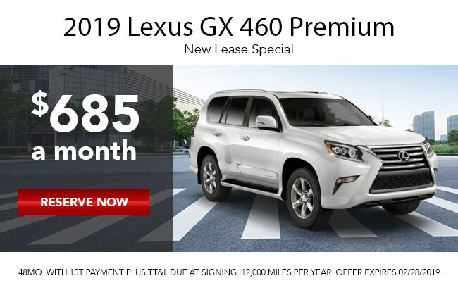 2019 Lexus Gx 460 Lease Offer