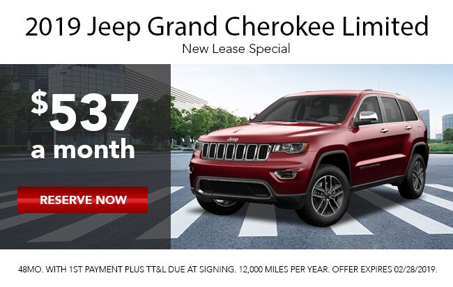 2019 Grand Cherokee