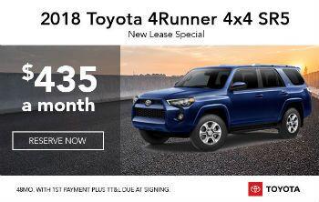 2018 4Runner 4x4 SR5