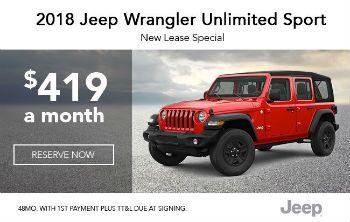 2018 Wrangler Unlimited