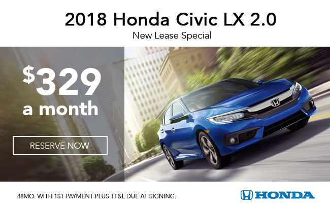 2018 Civic LX 2.0