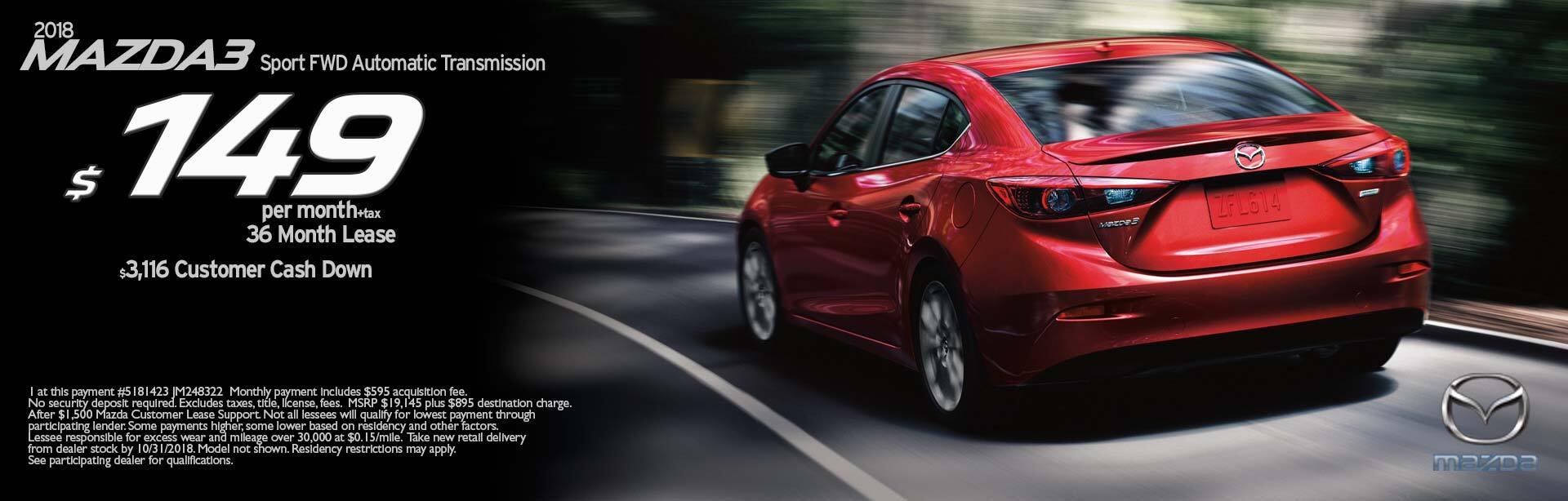 Mazda M3S SP A Sport