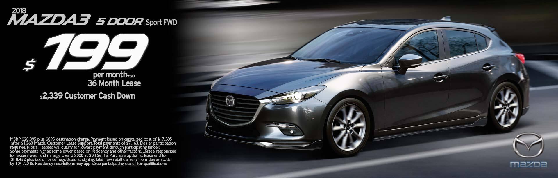 2018 Mazda