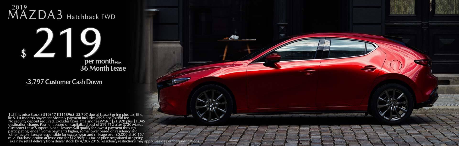 2019 Mazda Mazda3 5-Door 2WD
