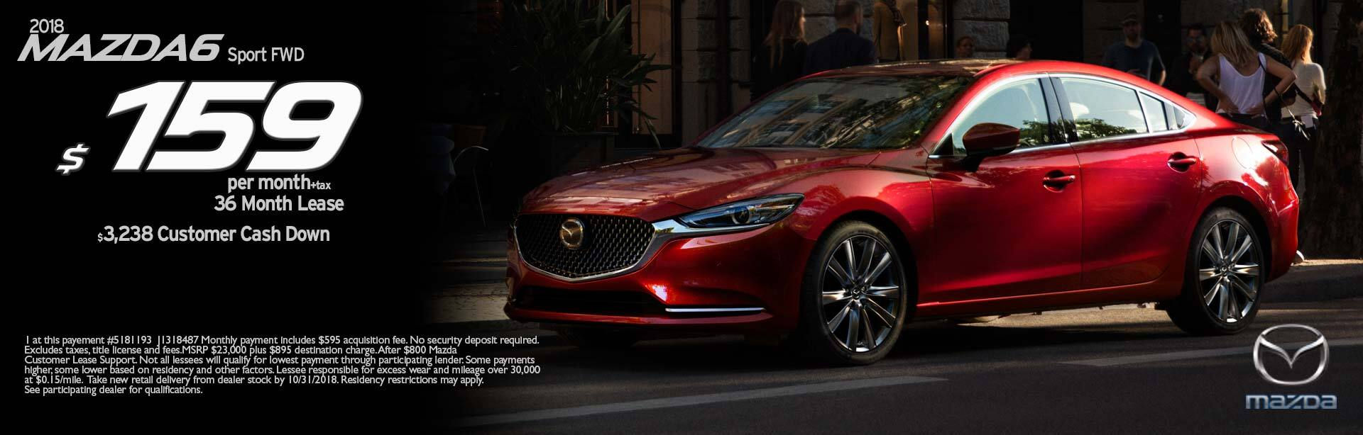 Mazda: a selection of sites