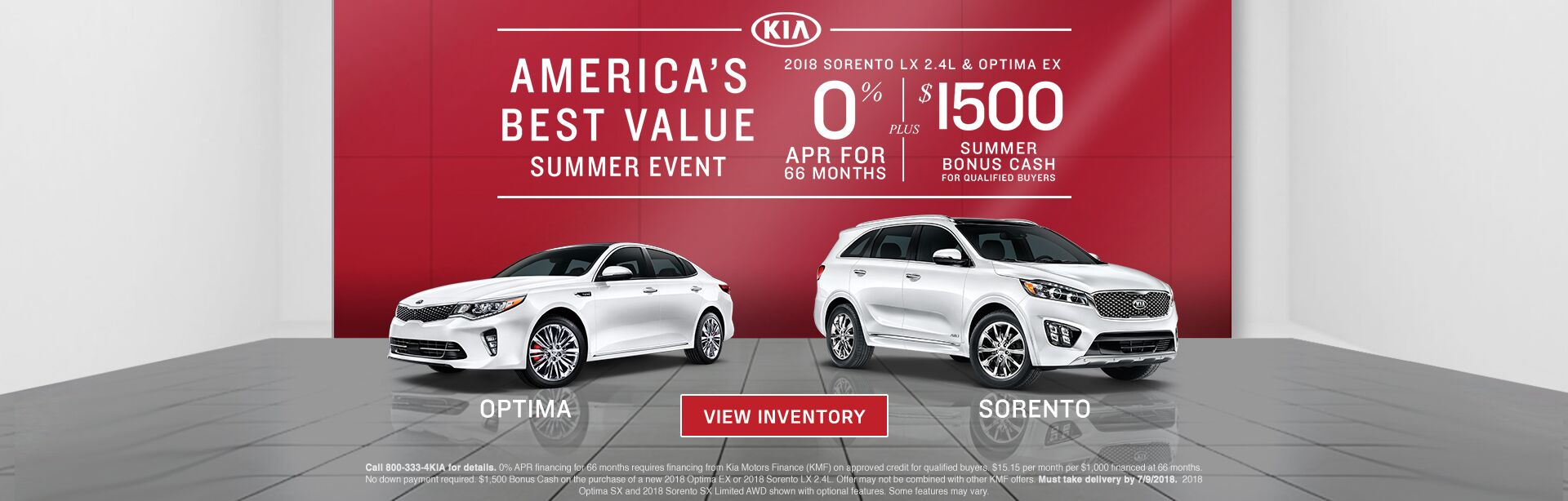 America's Best Value Summer Event at Route 6 Auto Mall KIA
