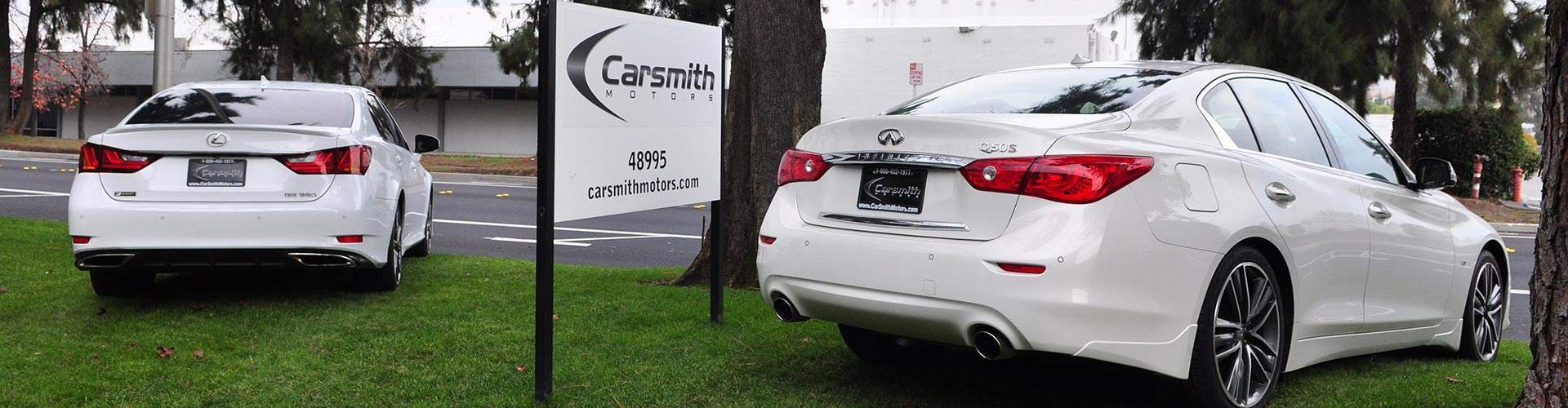 Lexus and Infiniti At Carsmith Motors