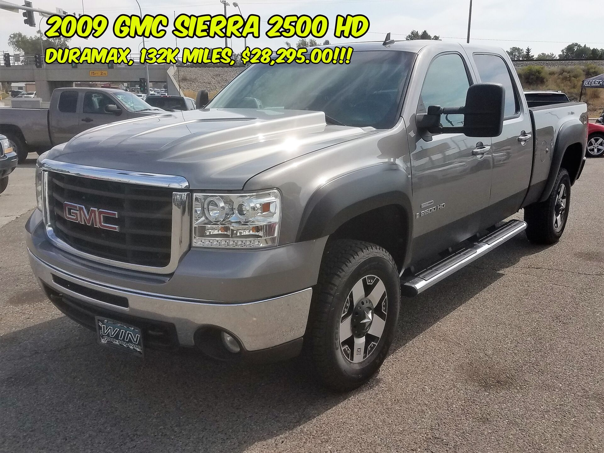 2009 GMC Sierra 2500 HD