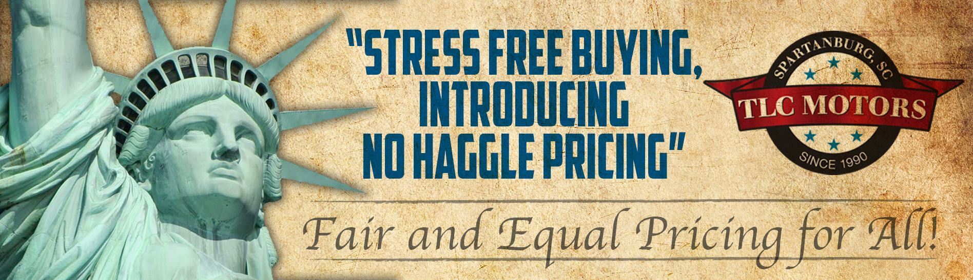 Fair and Equal Pricing For All