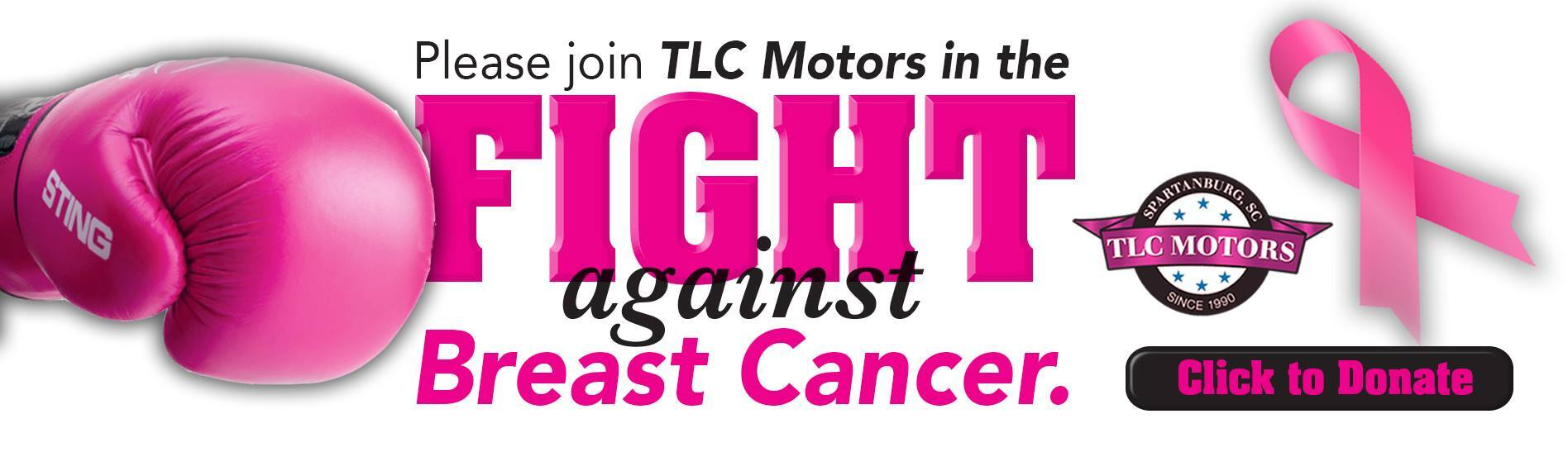 TLC Breast Cancer Awareness Month