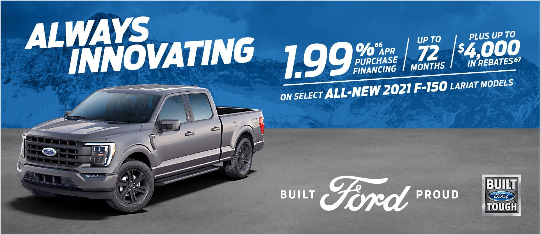 Great Deals on the ALL NEW 2021 F-150
