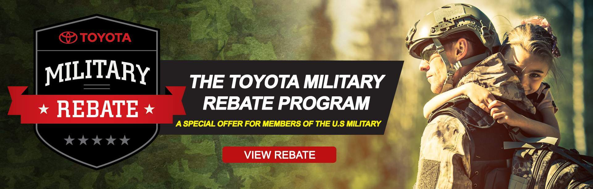 Toyota Military Rebate Program