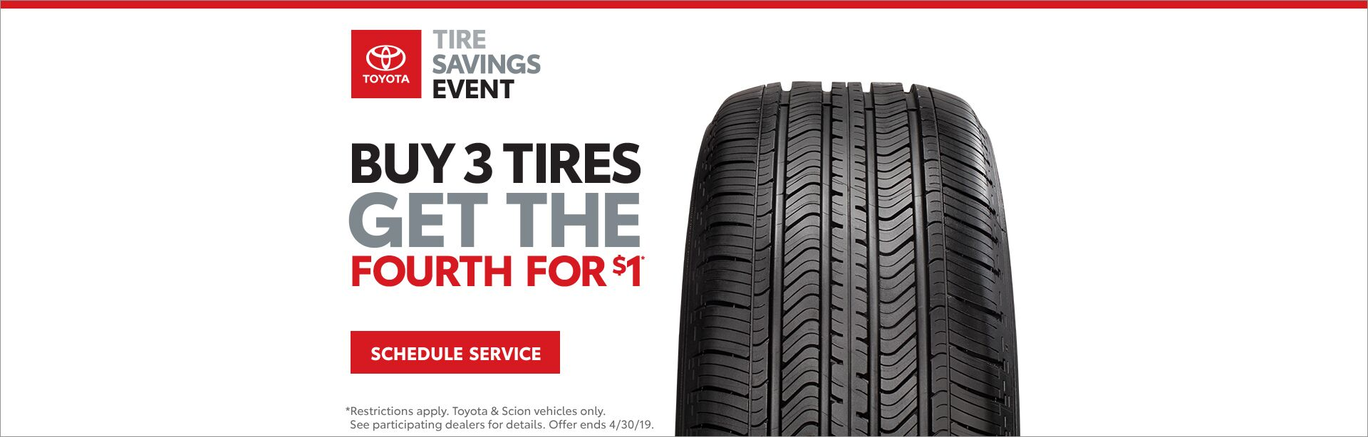 April Tire Sale