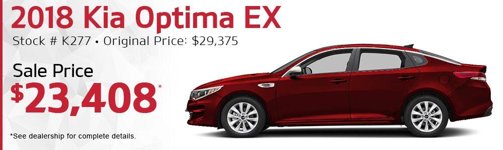 2018 Kia Optima EX Auto