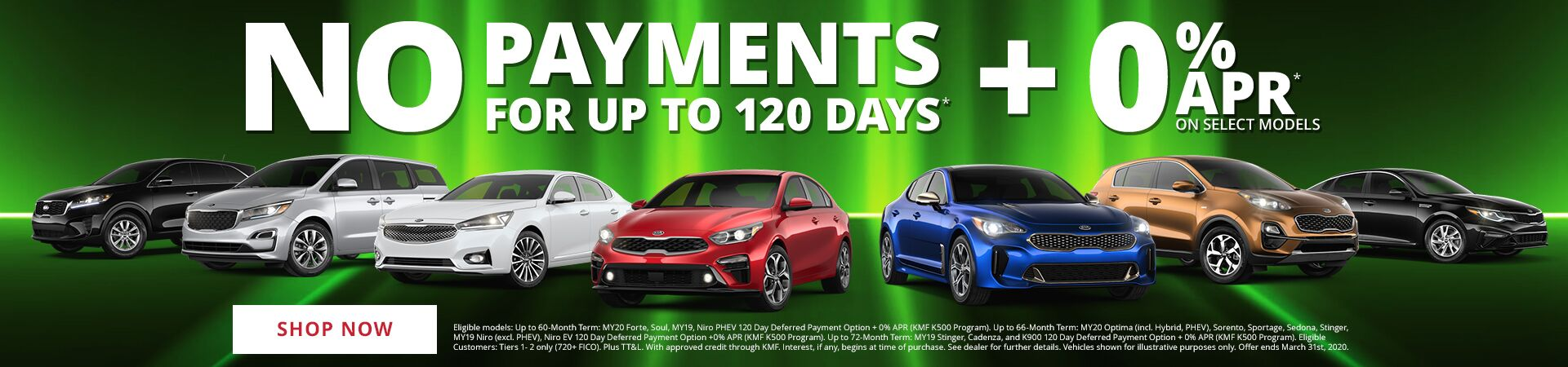 No Payments for 90 days