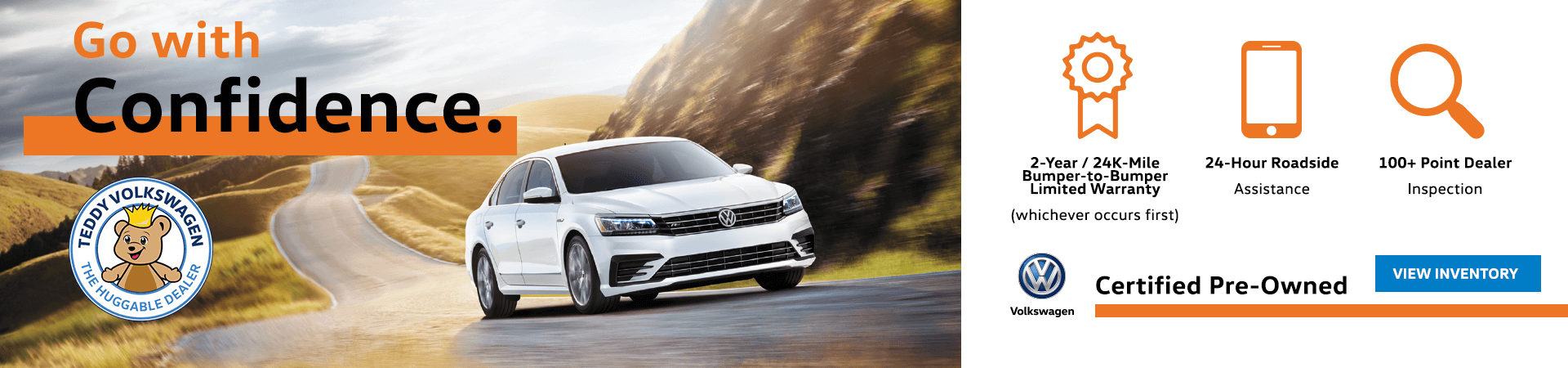Go With Confidence - Certified Pre-Owned Volkswagen Vehicles Bronx