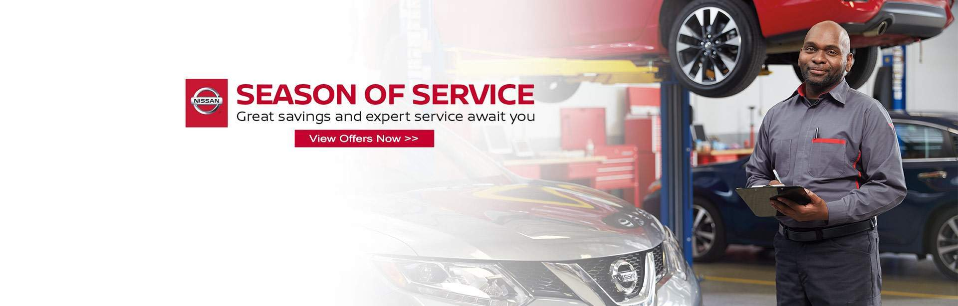 Nissan Service Savings at Tom Naquin Nissan