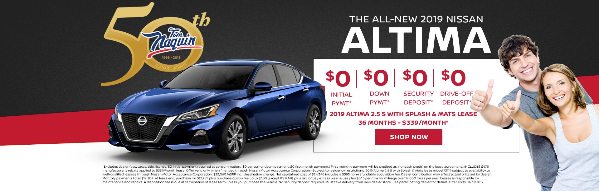 The All-New 2019 NIssan Altima