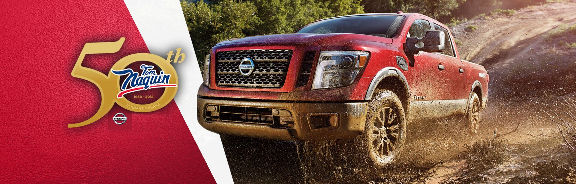 2017 Nissan Titan at Tom Naquin Nissan