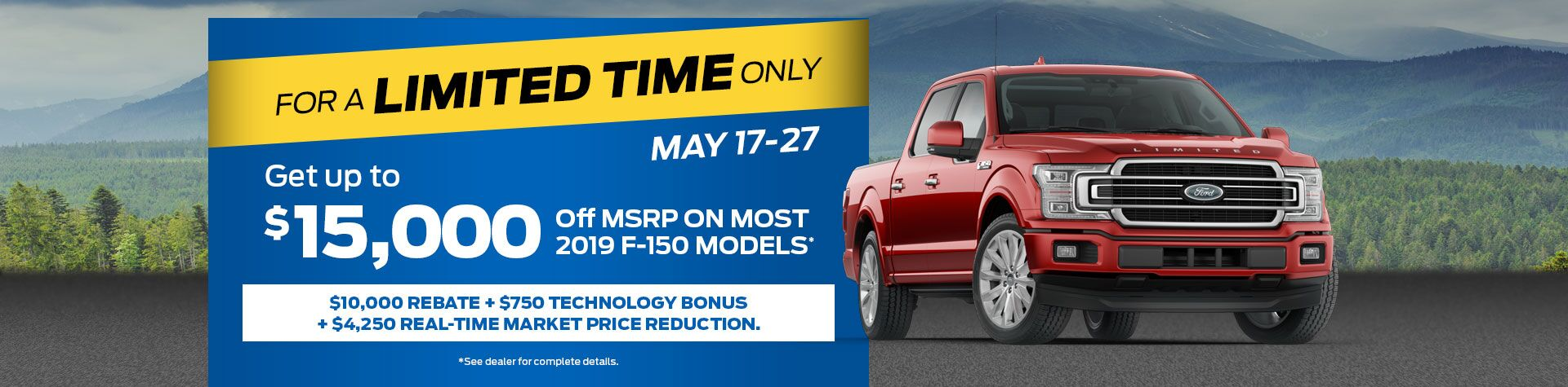 Limited Time Ford F-150
