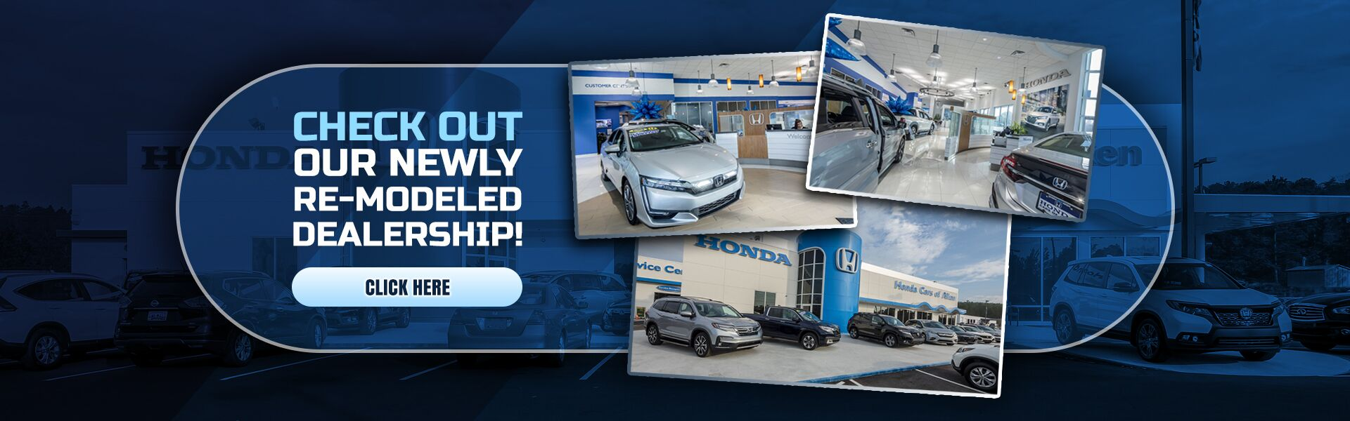 Check out our remodeled dealership