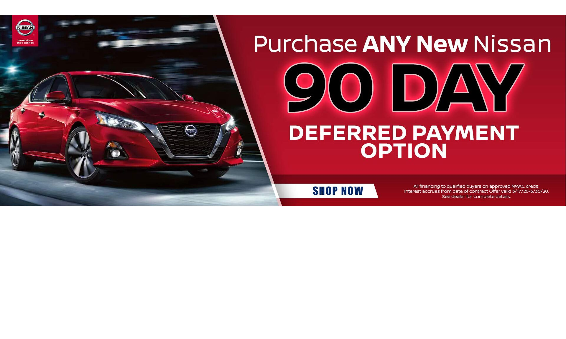 Nissan 90 day no payments2