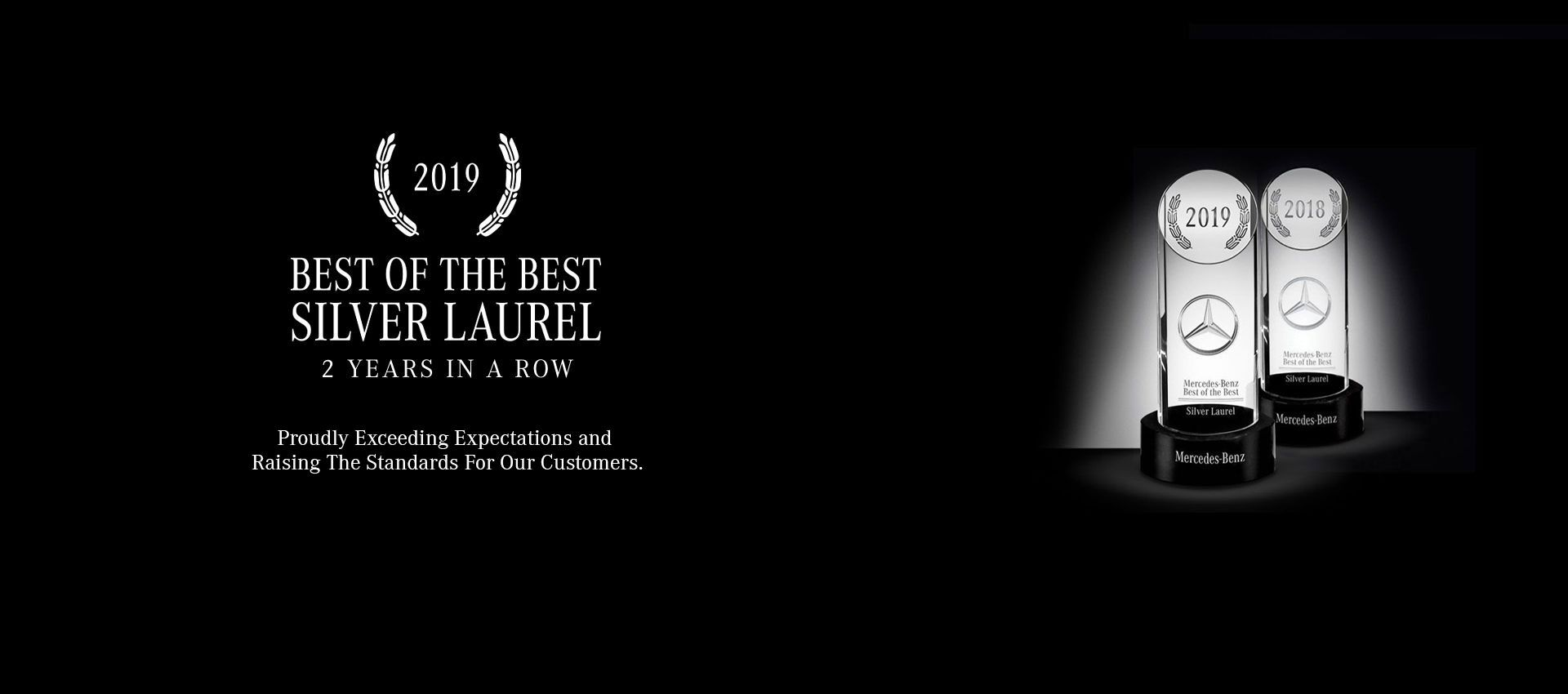 Silver Laurel Award - Mercedes-Benz of Salisbury