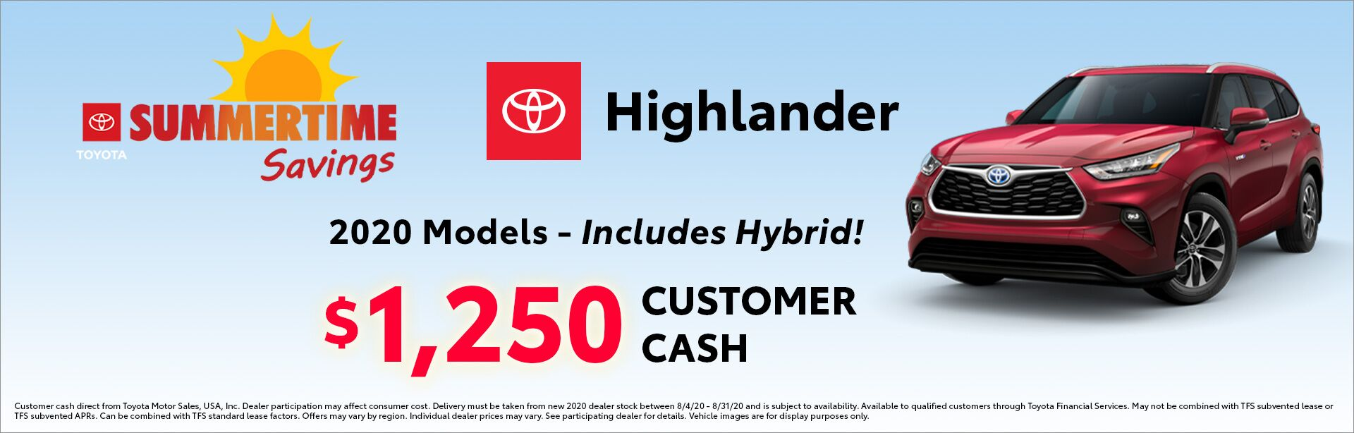 Highlander Customer Cash