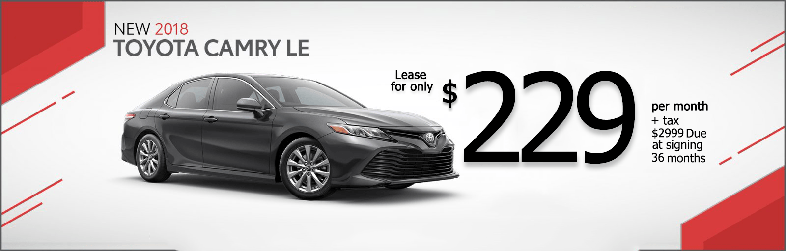 Camry LE Lease 229