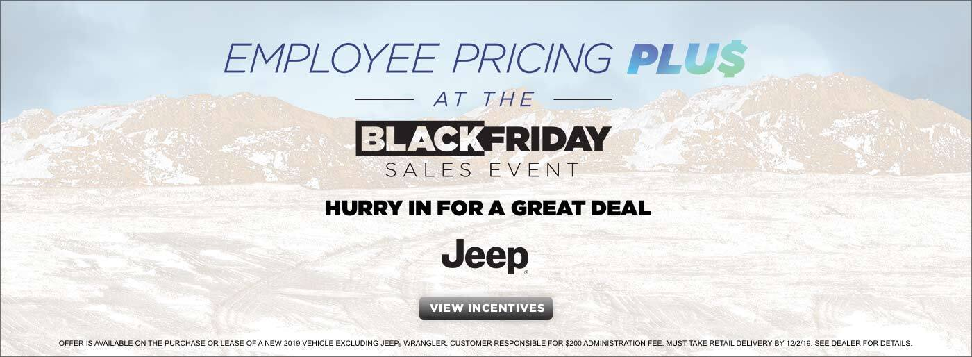Black Friday - Jeep