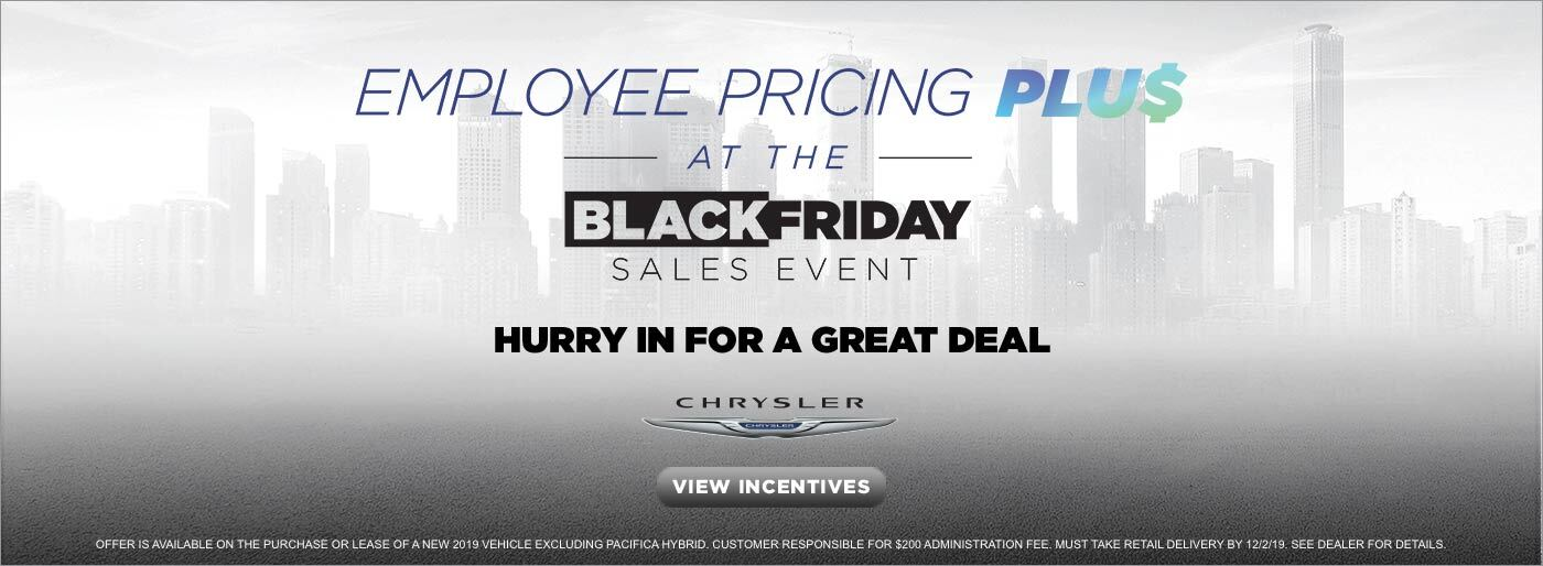 Black Friday - Chrysler