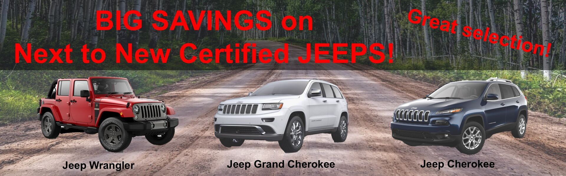 May 2018 Used Jeeps