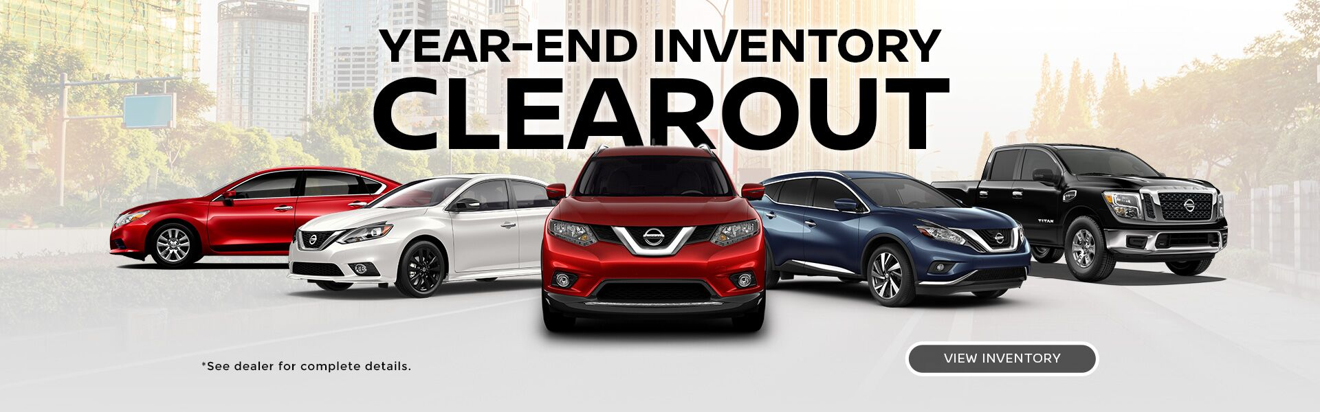 Year-end inventory clearout at Penticton Nissan