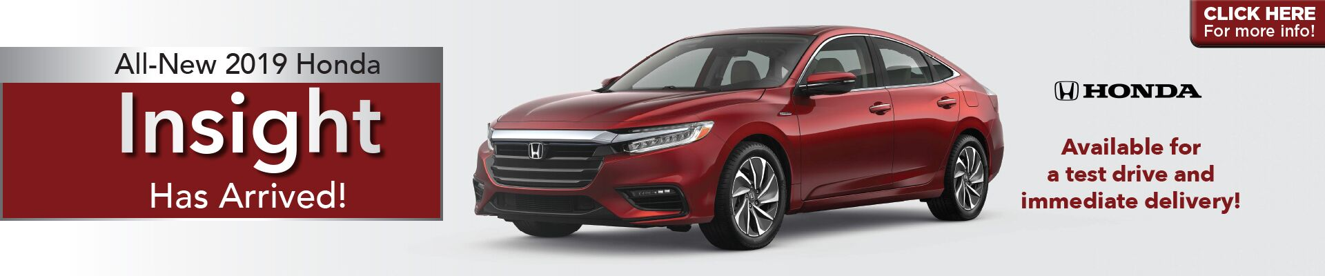 2019 Insight. Atlantic Honda