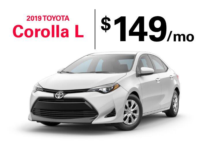2019 Corolla L