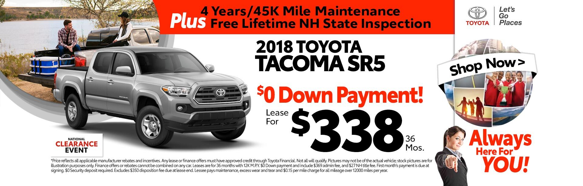 Tacoma Lease Special