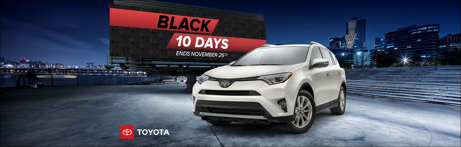Toyota Black Friday 10 Days Nov 2018