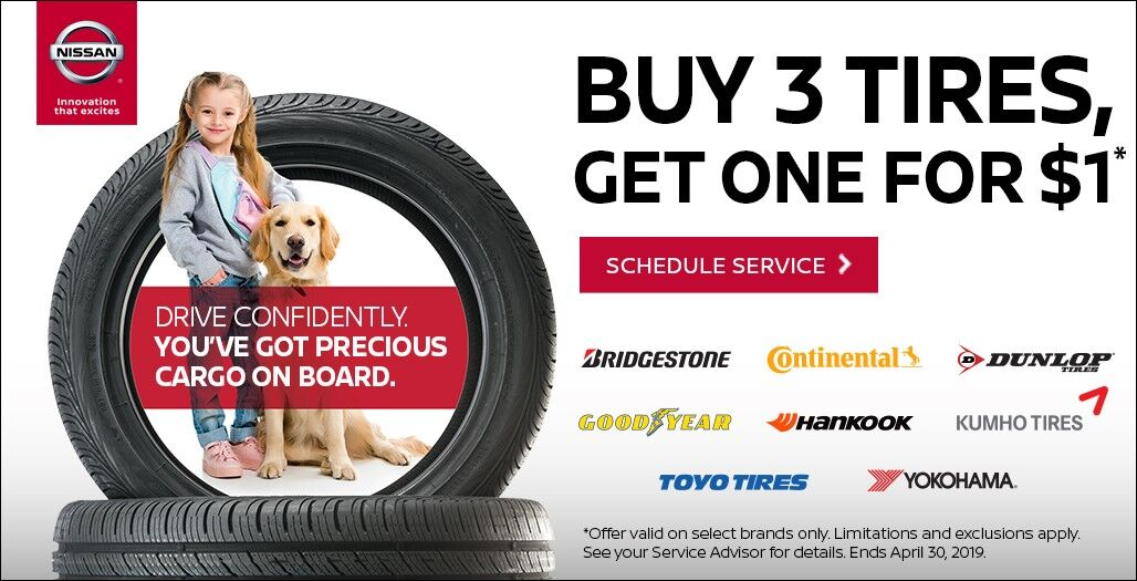 Nissan Tire Sale