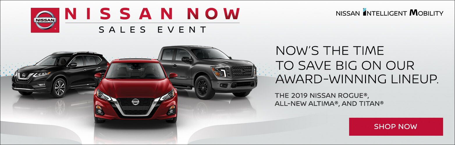 Nissan Now Banner