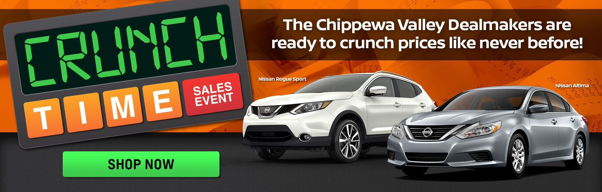 Crunch Time Sales Event