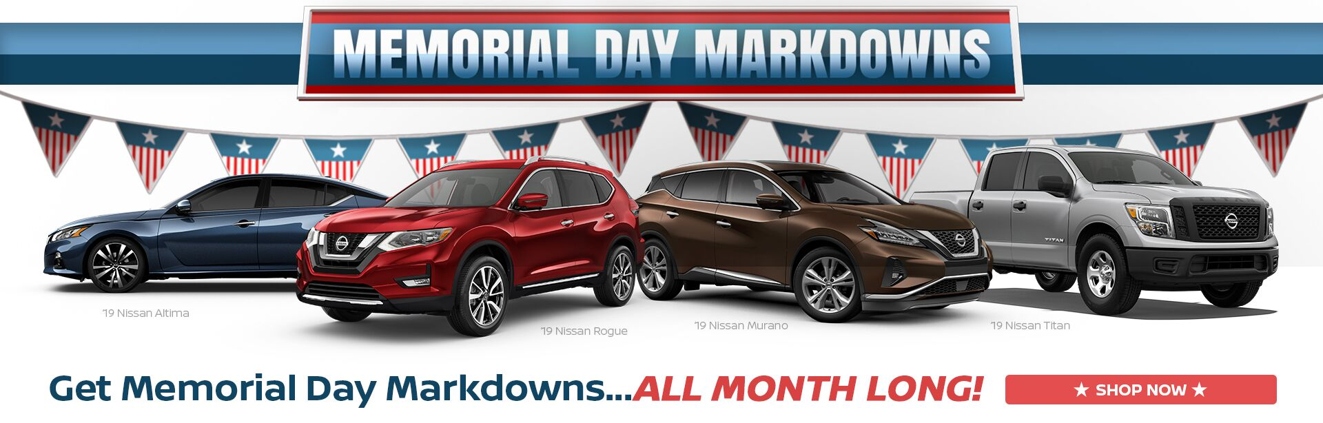 Memorial Day Markdowns