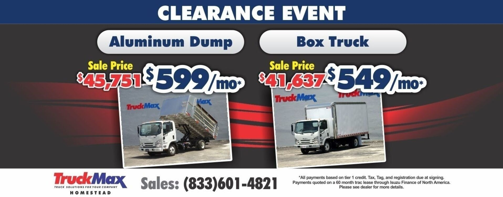 Q1 CLEARANCE EVENT