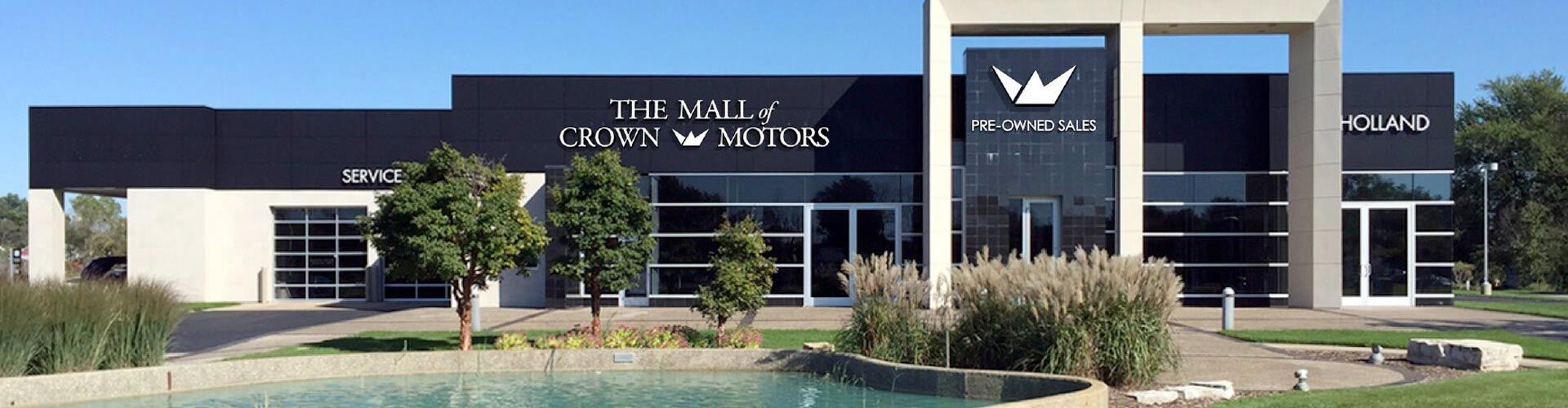 Used vehicle dealership holland mi used cars mall of for Crown motors holland michigan