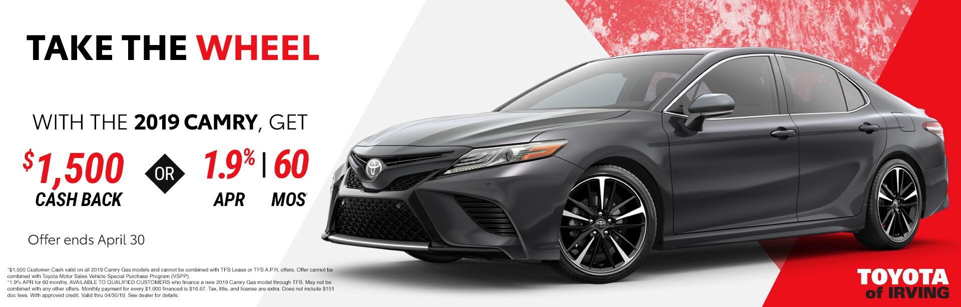 New SRP Camry
